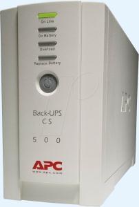 Εικόνα της APC Back-UPS BK500EI CS 500VA Stand By