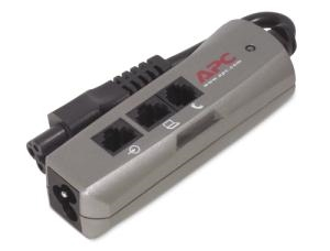 Εικόνα της APC Notebook Surge Protector PNOTEPROC6-EC for AC Phone and Network lines, 3 pin connection,