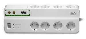 Εικόνα της APC Essential SurgeArrest PMF83VT-GR 8Οutlet with Phone & Coax Cable Protection