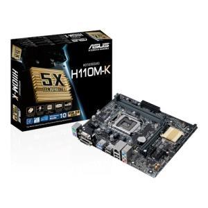 Εικόνα της ASUS MOTHERBOARD H110M-K, S1151, DDR4, MATX
