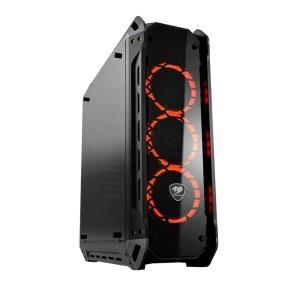 Εικόνα της CC-COUGAR Case PANZER-G Middle ATX Black Tempered Glass USB 3.0