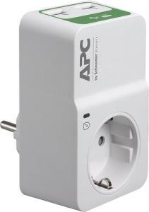 Εικόνα της APC Essential SurgeArrest PM1WU2-GR 1 Οutlet With USB Charger