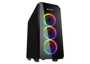 Εικόνα της CC-COUGAR Case PURITAS RGB Middle ATX BLACK Tempered Glass USB 3.0