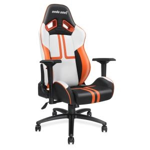 Εικόνα της ANDA SEAT Gaming Chair VIPER Black - White - Orange