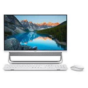 Εικόνα της DELL All In One PC Inspiron 5490 23.8'' FHD/i5-10210U/8GB/256GB SSD + 1TB HDD/Intel UHD Graphics/Win 10/2Y NBD/Vessel Stand/Silver-White